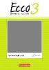 Legler, Rosmarie,Ecco Band 3 - Arbeitsheft mit CD