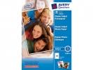 ,fotopapier Avery A4 180gr doos 50 vel wit glanzend
