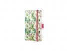 ,Notitieboek Sigel Jolie Beauty A6 hardcover gelinieerd      `Limegreen tropics`