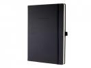 ,notitieboek Sigel Conceptum Pure hardcover A4 zwart geruit