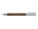 ,vulpen Faber-Castell Ambition walnoothout EF