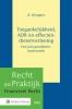 R.  Knopper,Toegankelijkheid, ADR en effectendienstverlening