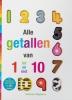 ,Alle getallen van 1 tot en met 10