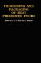 Rees, Judith A.,   Bettison, J. Processing and Packaging of Heat Preserved Foods
