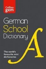 Collins Dictionaries Collins German School Gem Dictionary