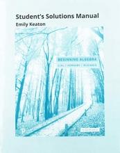 Margaret L. Lial,   John Hornsby,   Gary Clendenen Student`s Solutions Manual for Beginning Algebra