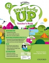 Jackson, Patrick Everybody Up: Level 4. Teacher`s Book Pack with DVD, Online Practice and Teacher`s Resource Center CD-ROM
