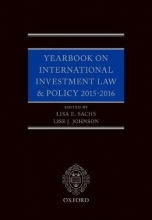 Yearbook on International Investment Law & Policy 2015-2016