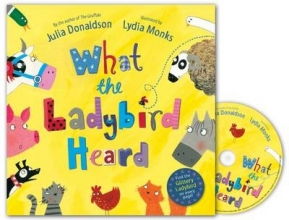Donaldson, Julia What the Ladybird Heard Book and CD Pack