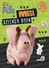 Golden Books Mega Sticker Book (the Secret Life of Pets)