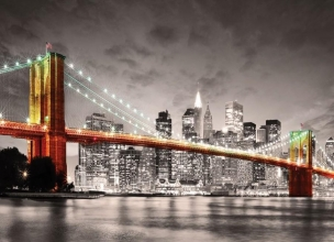 Eur-6000-0662 , Puzzel new york city brooklyn bridge 1000 stuks