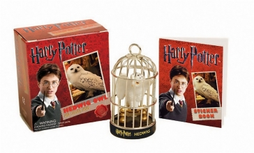 Running,Press Harry Potter Hedwig Owl Kit and Sticker Book