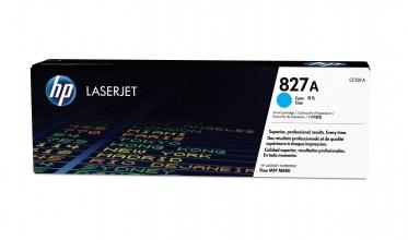 , Tonercartridge HP CF301A 827A blauw