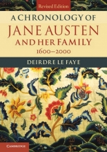 Le Faye, Deirdre A Chronology of Jane Austen and Her Family