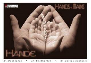 Hände Postkarten-Buch