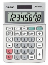 , Rekenmachine Casio MS-88-ECO