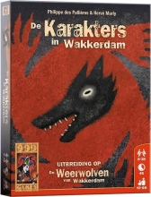 999-wee05 , Weerwolven van wakkerdam - de karakters in wakkerdam  - uitbreiding - 999 games