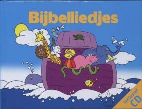 Div. kinderliedjes Bijbelliedjes/boek+cd