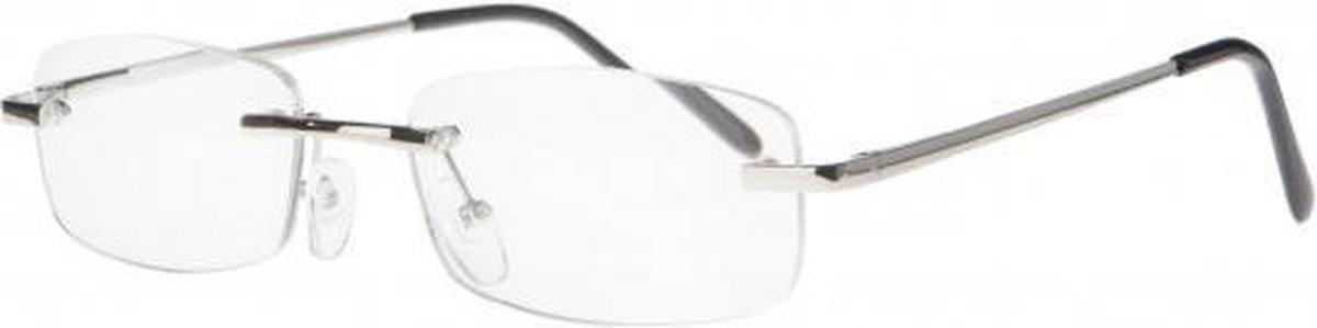 Ecc001,Leesbril icon metal frameless 1.00