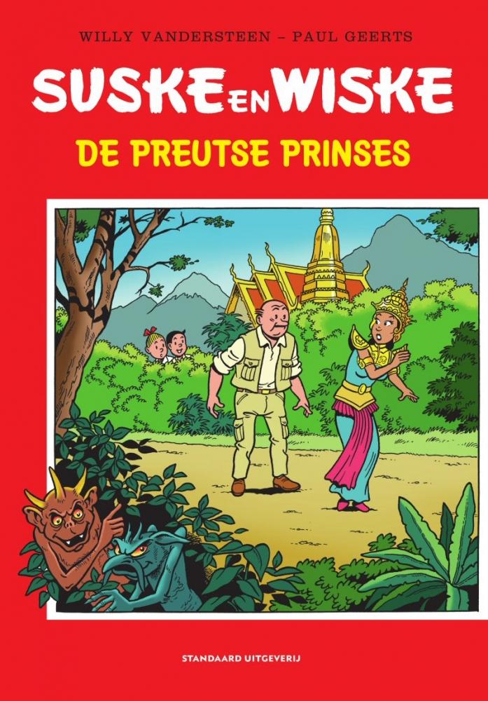 Willy Vandersteen,De Preutse Prinses