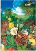 ,<b>Paperblanks notitieboek midi  moon garden lijn</b>