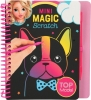 0010708 a , Topmodel mini magic scratch book