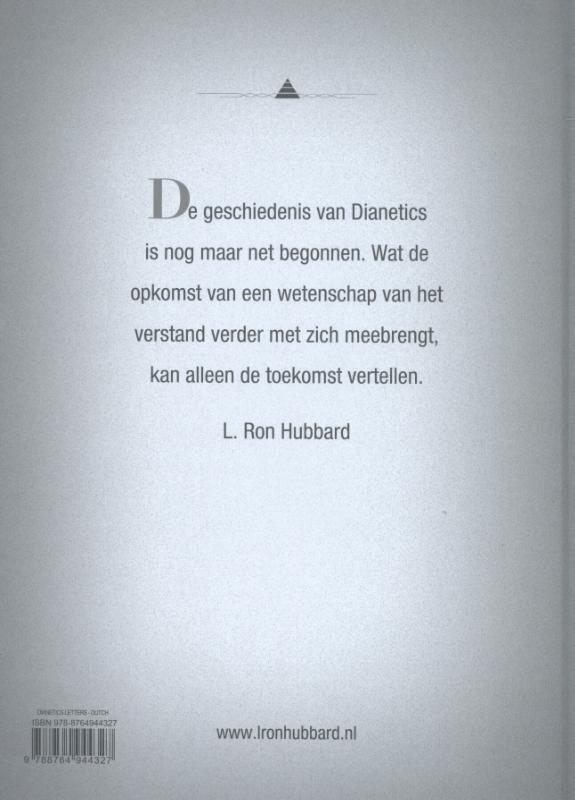 ,Dianetics: Brieven en Dagboeken