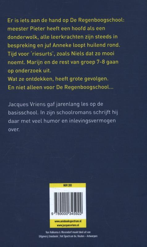 Jacques Vriens,Het raadsel van de regenboog