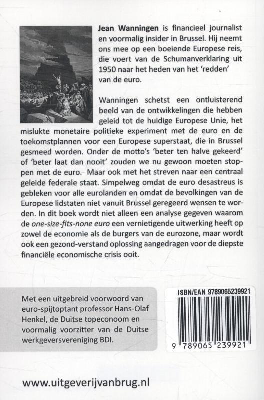 Jean Wanningen,Het eurobedrog
