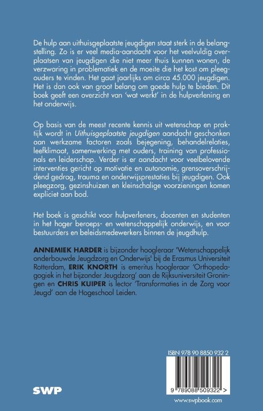 Annemiek Harder, Erik Knorth, Chris Kuiper,Uithuisgeplaatste jeugdigen