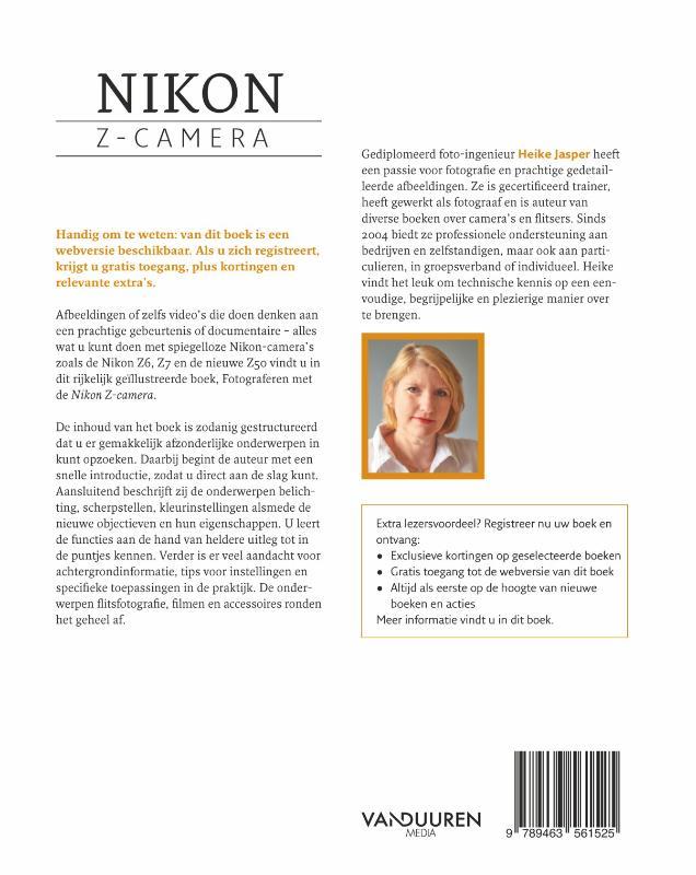 Heike Jaspers,Fotograferen met de Nikon Z-camera