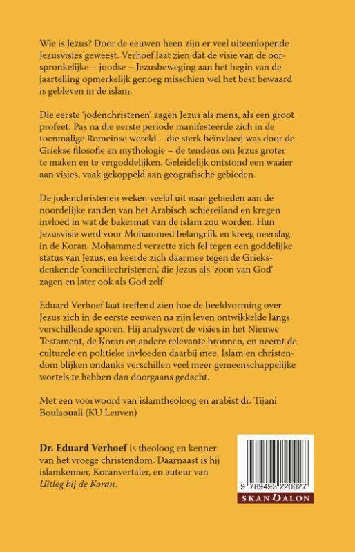 Eduard Verhoef,Jezus in Christendom en Islam