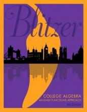 Robert F. Blitzer College Algebra