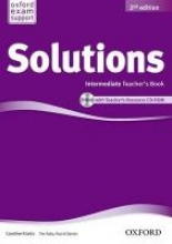 Solutions: Intermediate: Teacher`s Book and CD-ROM Pack