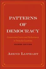 Arend Lijphart Patterns of Democracy