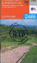 Ordnance Survey Malvern Hills and Bredon Hill