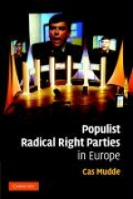 Mudde, Cas Populist Radical Right Parties in Europe