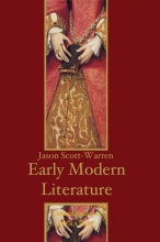 Scott-Warren, Jason Early Modern English Literature