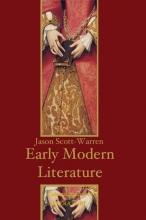 Scott-Warren, Jason Early Modern English Literature
