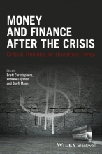 Christophers, Brett Money and Finance After the Crisis