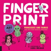 Finger Print Princesses and Fairies