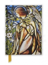 Tiffany Angel Stained Glass Window (Foiled Journal)