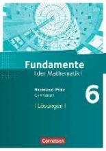 Fundamente der Mathematik 6. Schuljahr - Rheinland-Pfalz - Lösungen zum Schülerbuch