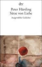Härtling, Peter Sätze von Liebe