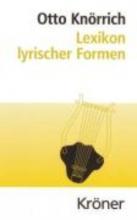 Knörrich, Otto Lexikon lyrischer Formen