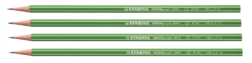 , Potlood STABILO Greengraph 6003 HB