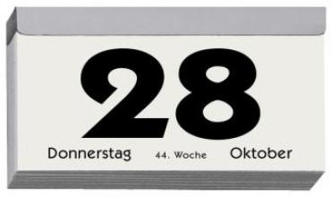 Tagesabreikalender 2017 Nr. 312-0000/Querformat