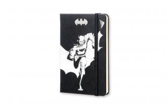 , Moleskine LE Blanco Zwart Notitieboek Batman Pocket (9x14 cm)