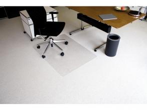 , vloermat Kangaro voor tapijt 90 x 120 cm transparant PET    2,1mm/nop 2,1