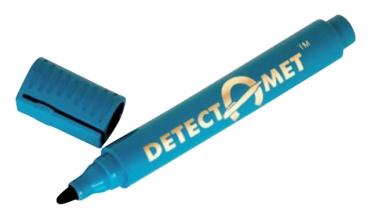 , Viltstift detectie Detectamet whiteboard rond blauw